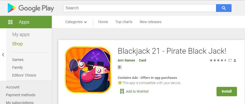 Sebagai Pengusir Rasa Bosan! Inilah Review Game Blackjack 21 - Pirate Black Jack!